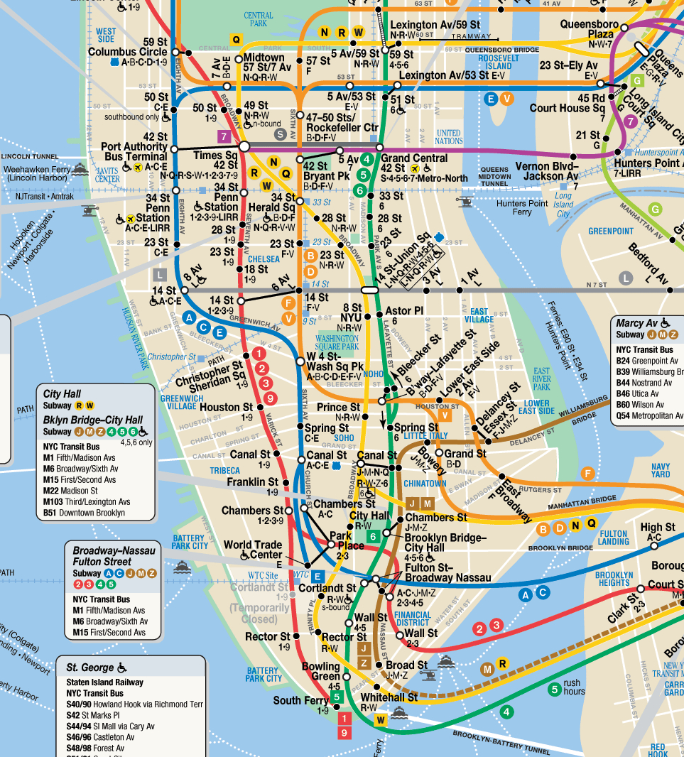 June  Margaret In The City - Nyc rat map